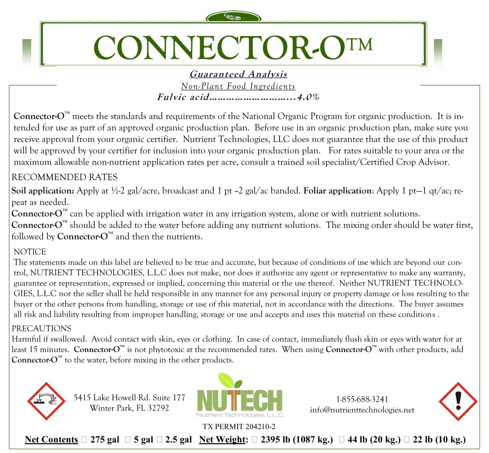 Connector-O Label